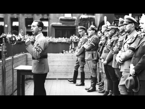 hitlershelfer josephgoebbels derbrandstifter Hitlers Helfer   Joseph Goebbels   Der Brandstifter