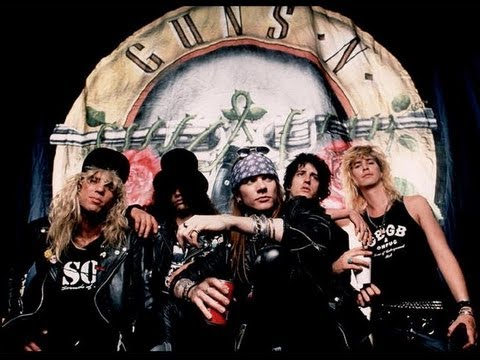 gunsnroses biographie  Guns N Roses    Biographie