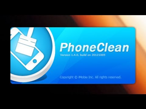 phoneclean foralliosdevicesiphoneipadipodtouch1 PhoneClean   For all iOS devices (iPhone, iPad, iPod touch)